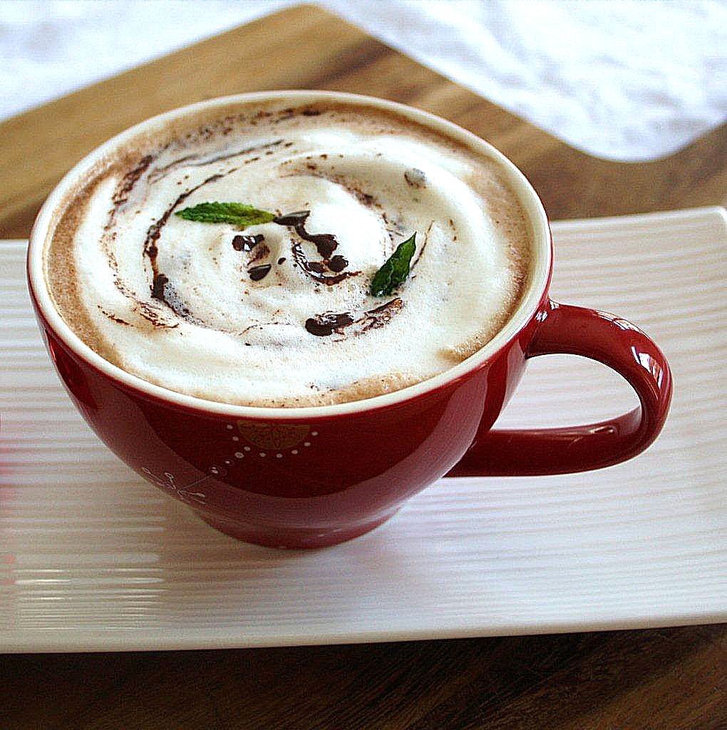 Naturally Flavored Peppermint Hot Chocolate