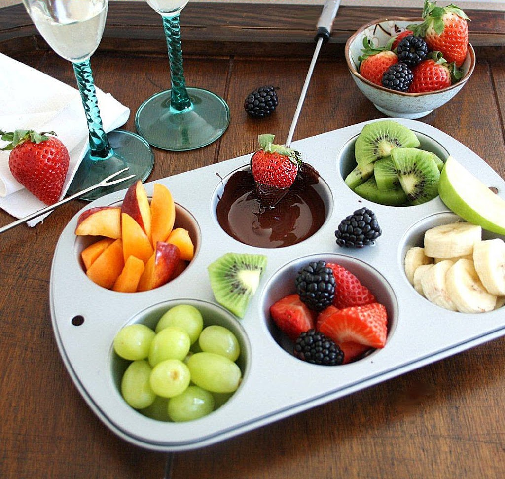 DIY Chocolate Fondue for Two