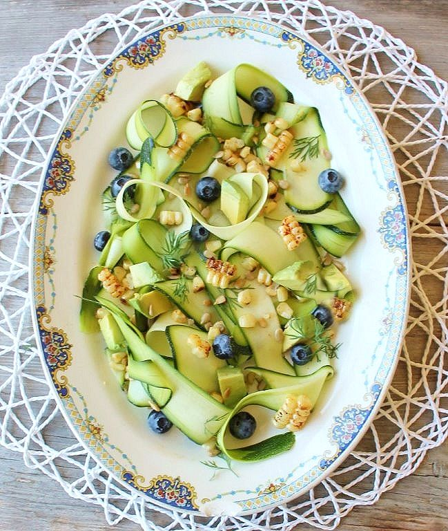 grilled corn & zucchini ribbon salad_blog_2