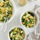 California-Style Caesar Salad with Crispy Parmesan Croutons