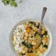 Thai Green Curry with Chickpeas, Cauliflower & Spinach