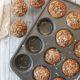 Cinnamon Crunch Oatmeal Apple Muffins